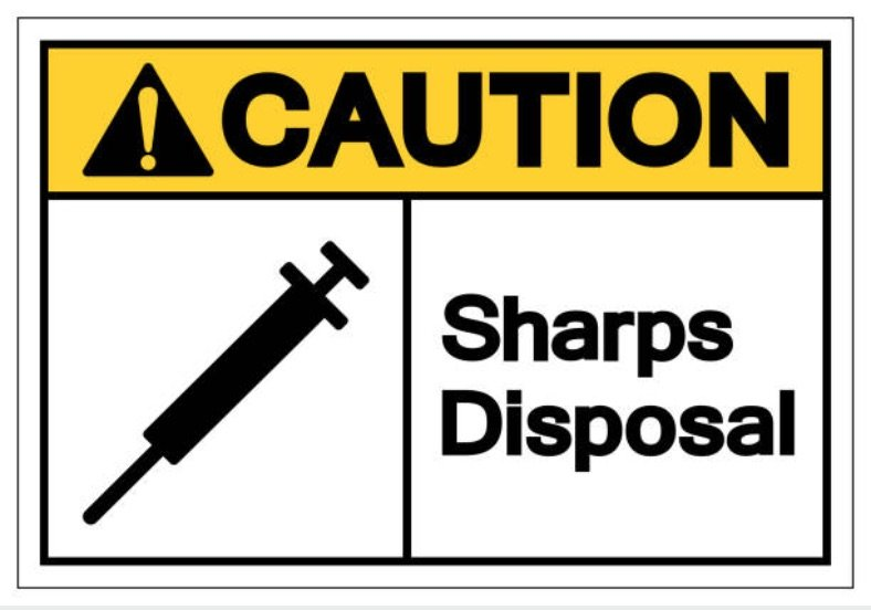 safe sharps disposal