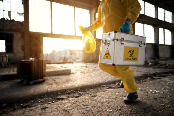 what is biohazard cleaning